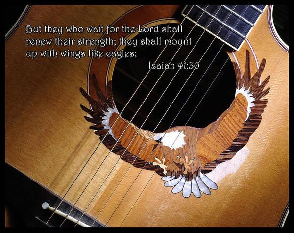 Eagle Guitar Poster