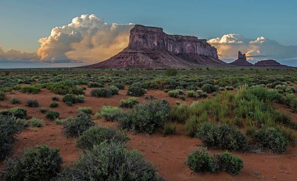 Eagle Mesa Storm Clouds Poster