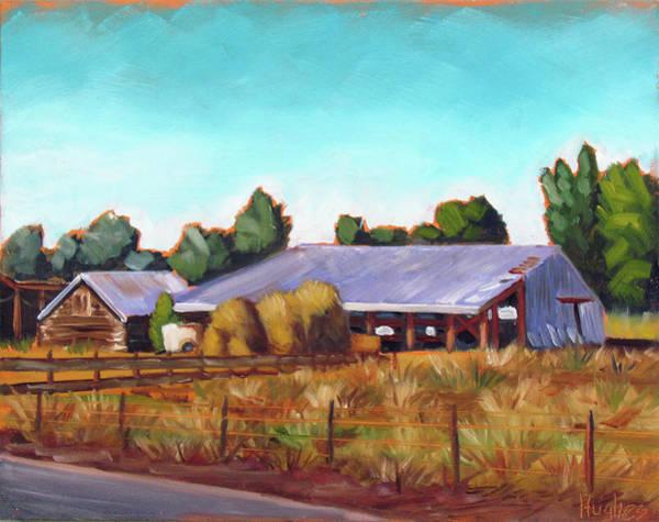 Eagle Road Barn Poster