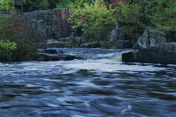 Early Fall At Eau Claire Dells Park Poster