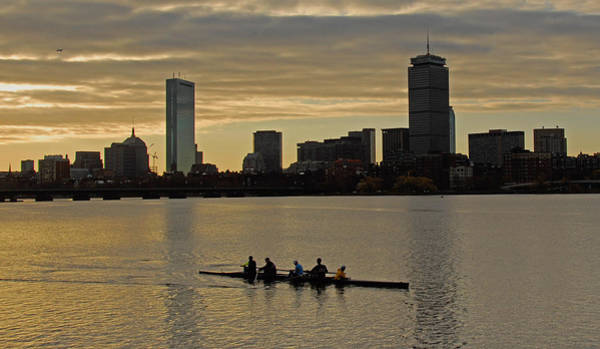 Early Morning On The Charles River Poster