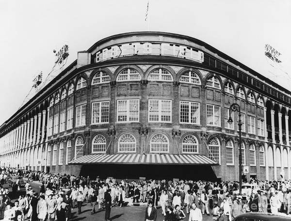 Ebbets Field, Brooklyn, Nyc Poster