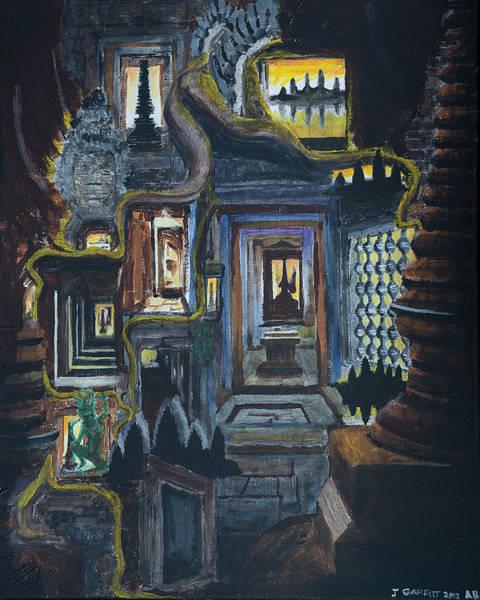 Echoes Of Angkor Wat Poster