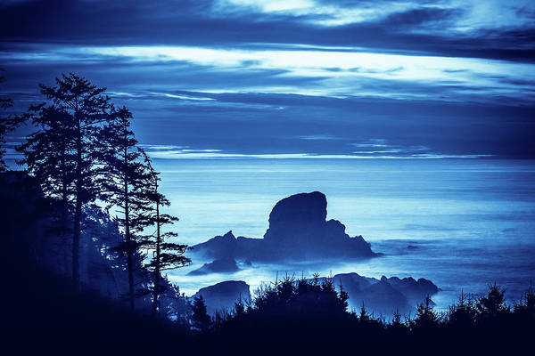 Ecola State Park Beach Scenic Poster