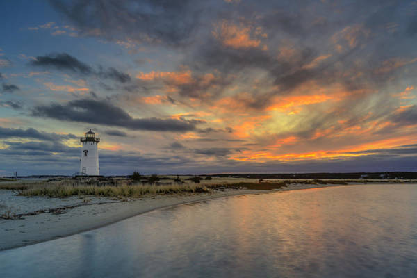 Edgartown Ligh At Dawn Poster