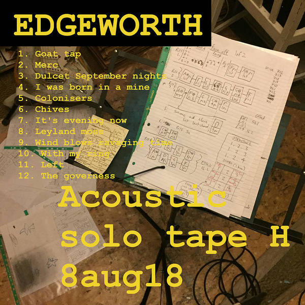 Edgeworth Acoustic Solo Tape H Poster
