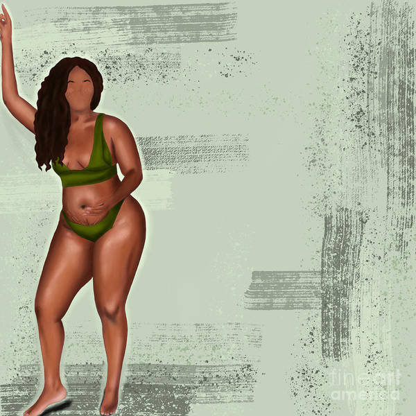 Poster featuring the digital art Eff Your Beauty Standards by Bria Elyce