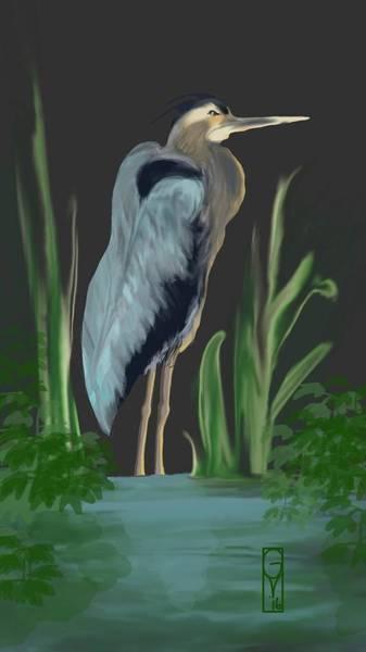 Egret I Poster