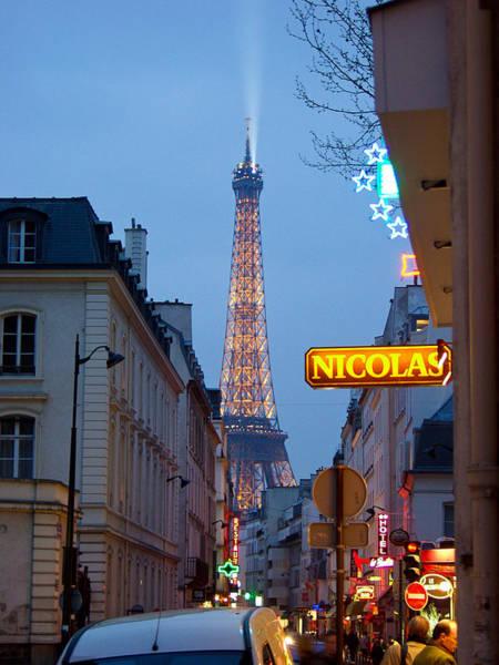 Eiffel At Dusk Poster