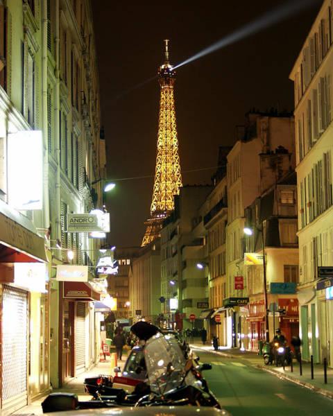 Eiffel In The Street Poster