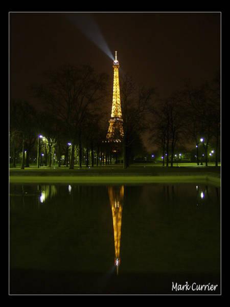 Eiffel Reflection Poster