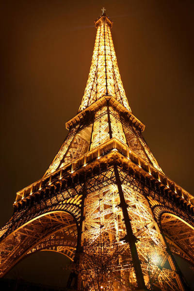 Poster featuring the photograph Eiffel by Skip Hunt