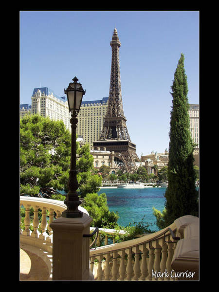 Eiffel Tower In Vegas Poster