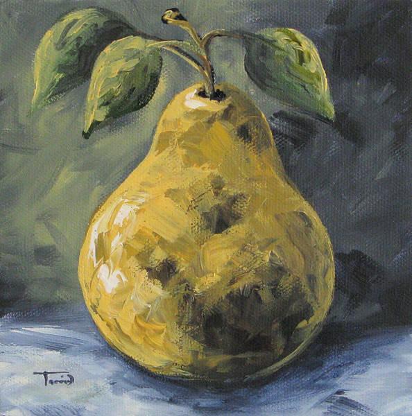 Elegant Pear Poster