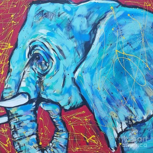 Elephant #4 Poster
