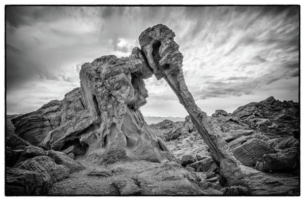 Elephant Rock, Valley Of Fire Poster