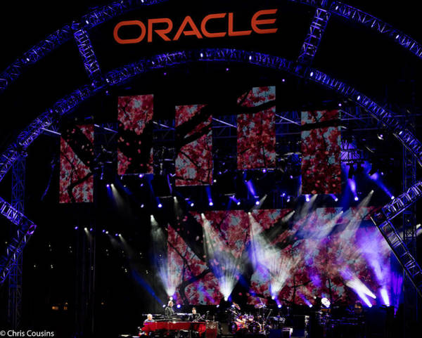 Elton John At Oracle Open World In 2015 Poster