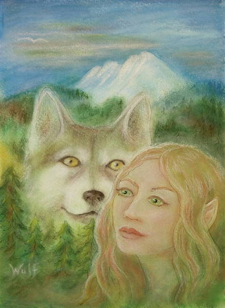 Elven Dream Poster