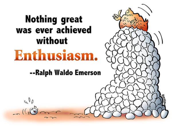 Embrace Enthusiasm Poster