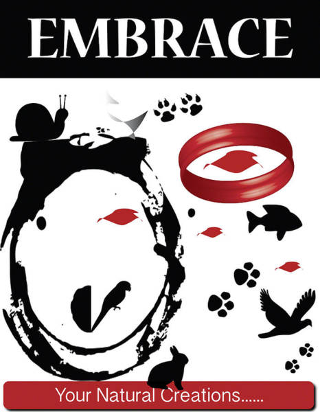Embrace Your Natural Creations Poster