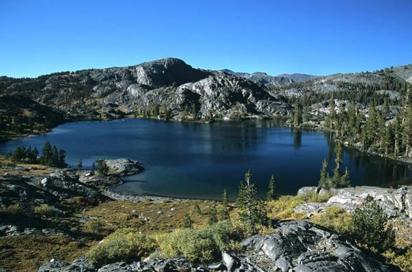 Emerald Lake From Jmt  Poster