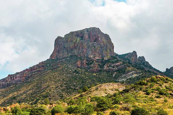 Emory Peak Chisos Mountains Poster