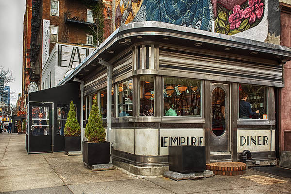 Poster featuring the photograph Empire Diner by Alison Frank