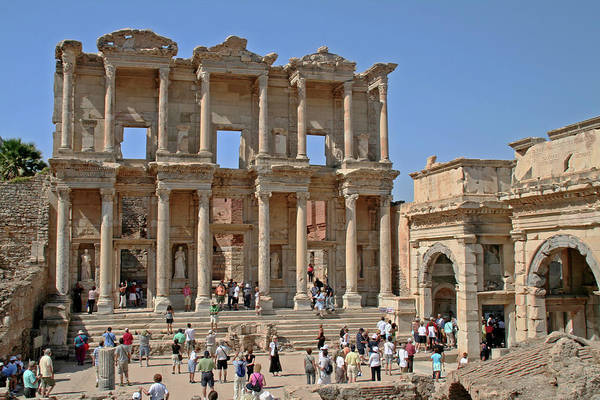 Ephesus, Turkey - Library Of Celsus Poster
