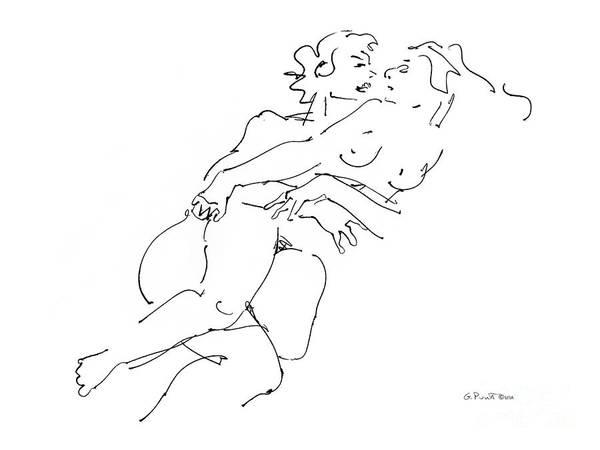 Erotic Art Drawings 13 Poster