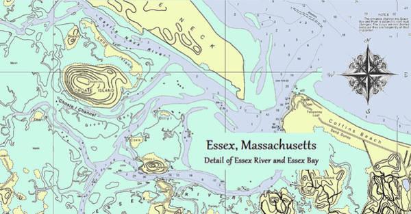 Essex River Detail Poster