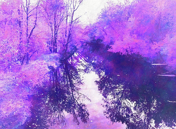 Ethereal Water Color Blossom Poster