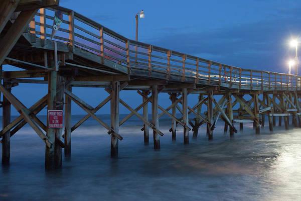 Evening Pier Poster