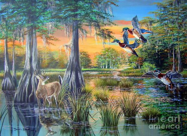 Fall Bounty- Big Cypress Swamp  Poster
