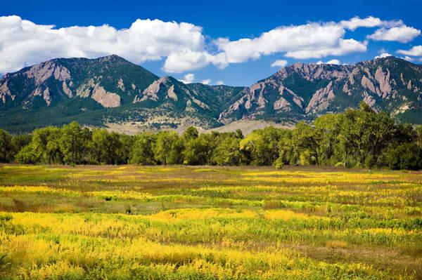 Fall Colors Of Boulder Colorado Poster