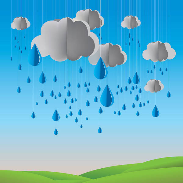 Falling Rain Poster