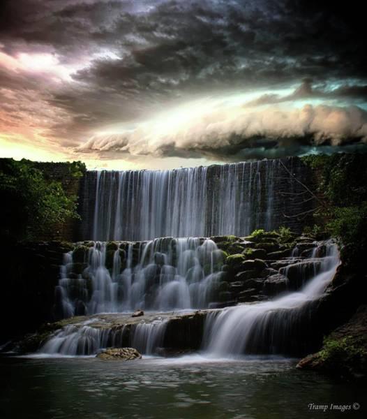 Falls At Mirror Lake Poster