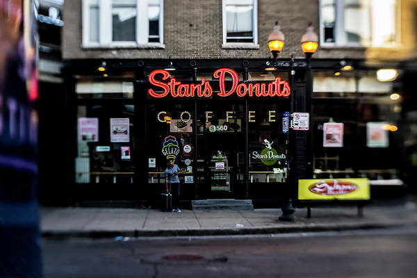 Famous Chicago Donut Shop Poster