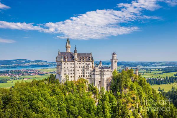 Neuschwanstein Fairytale Castle Poster