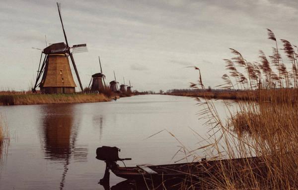 Famous Windmills At Kinderdijk, Netherlands Poster