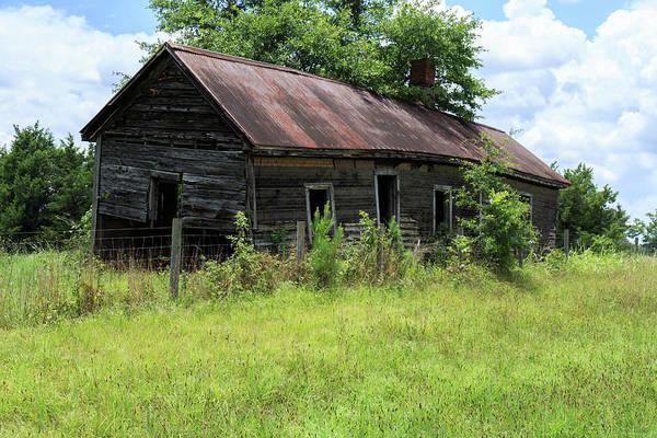 Farmhouse Abandoned Poster