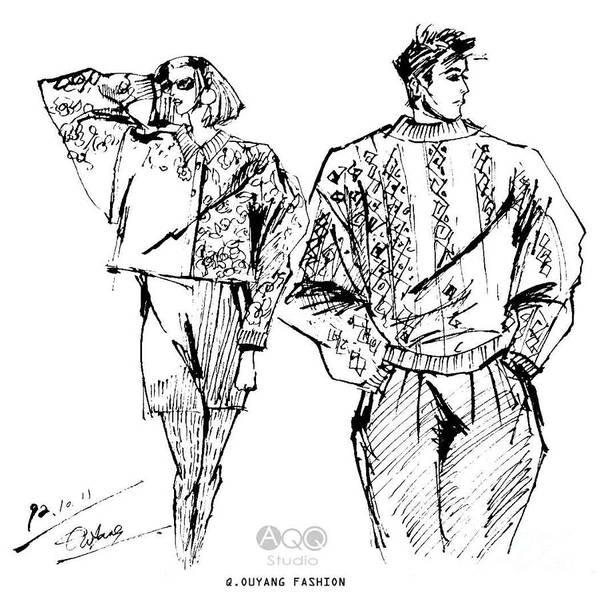 Fashion Couple Poster