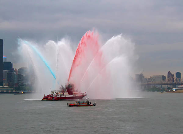 Fdny Water Cannon Poster
