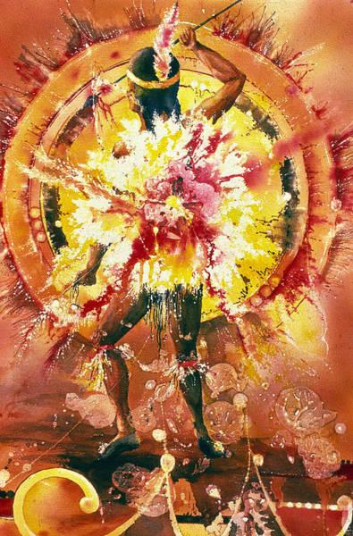 Feather Spirit Dancer Poster