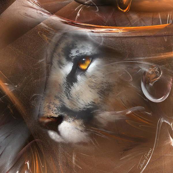 Feline Princess Poster