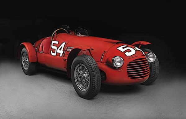 Ferrari 166 036  Poster