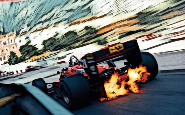 Ferrari 156/85 V6 Poster