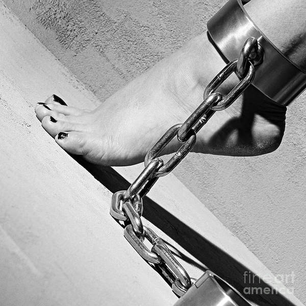 Fetish Shackled Or Cuffed Feet Poster