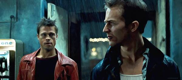 Fight Club #1 Large Size Painting Poster