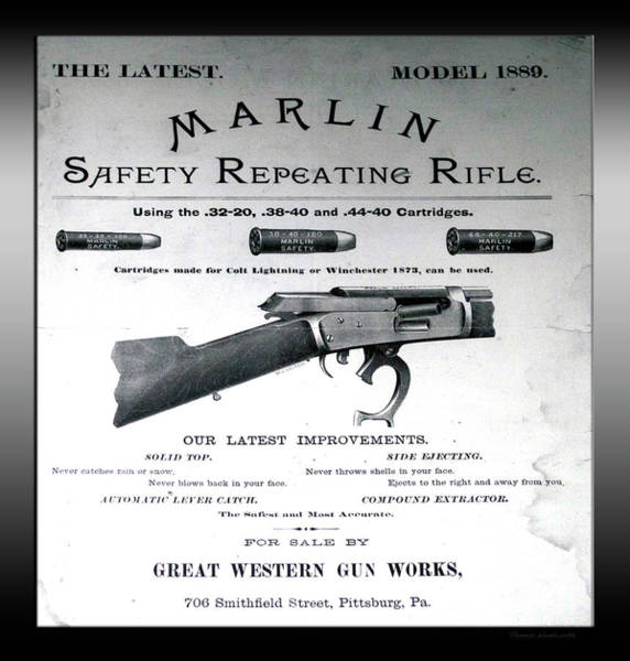 Lever Action Posters   Fine Art America