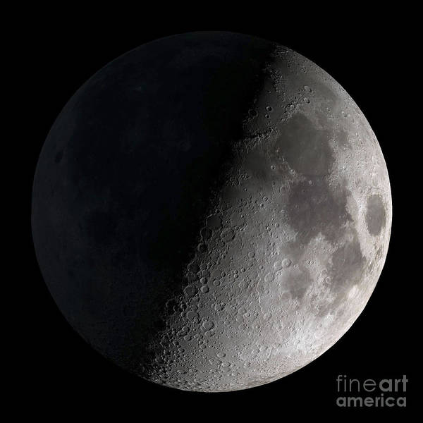 First Quarter Moon Poster
